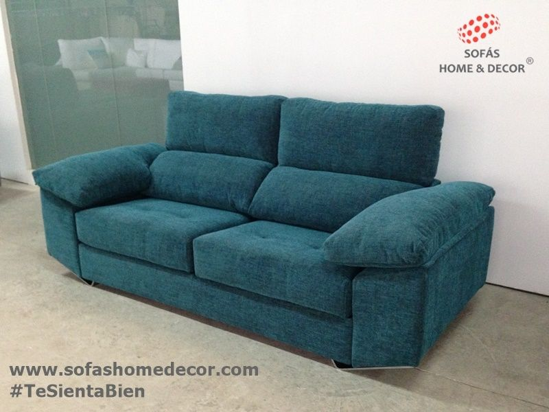 Sofas de 3 plazas top sof plazas grande de cuero with - Mejor sofa calidad precio ...