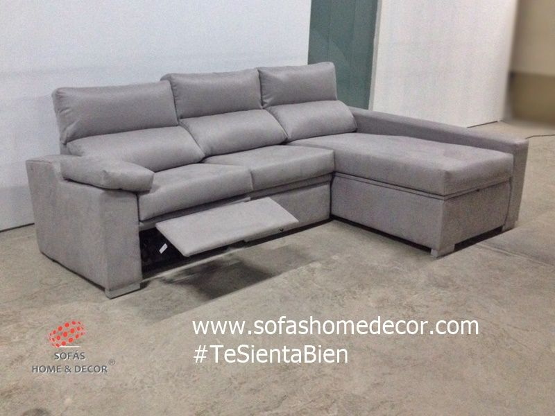 Sofá relax con chaise longue de Sofás Home decor