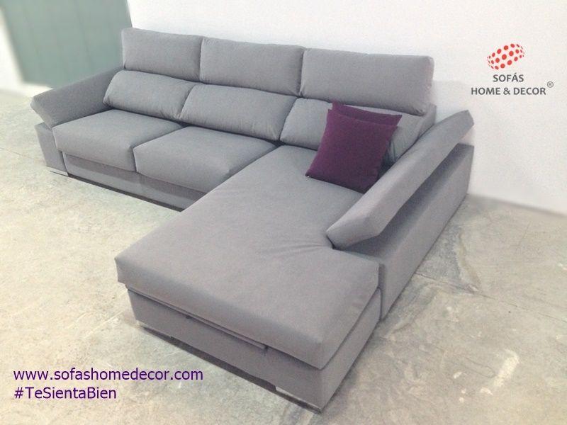 Sof 2 plazas chaise longue abatible sof s de sof s home decor - Fundas para cheslong ...