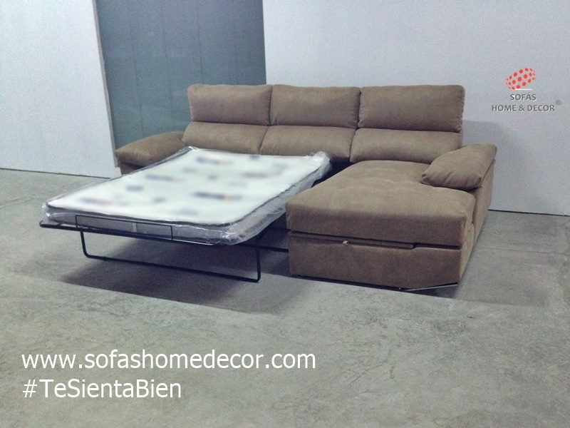 Sof s en valencia cheslong rinconera sof cama sill n - Colchon sofa cama ...
