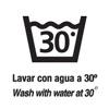 Lavado máximo 30º