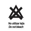 No utilizar lejia