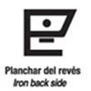 Planchar AL REVÉS / IRON BACK SIDE