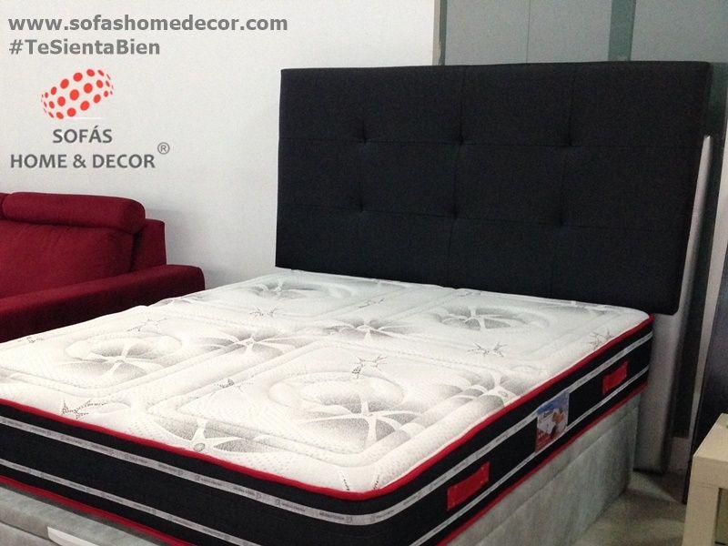 Cabezal cama matrimonio 135 sun cabezales cama de sof s - Cabezal cama polipiel ...