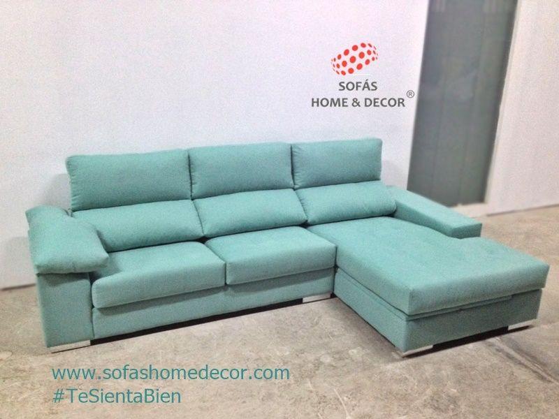 Sof 3 plazas chaise longue life sof s de sof s home decor - Medidas de sofas chaise longue ...