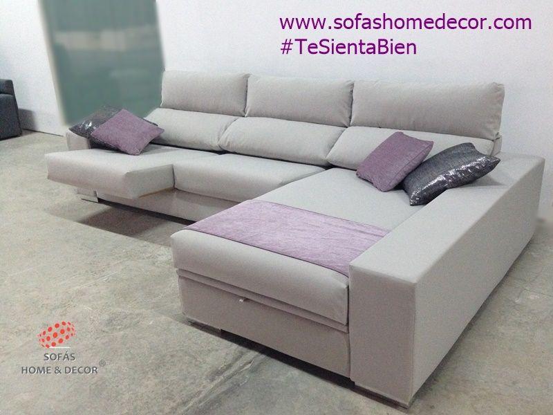 Sof 2 plazas chaise longue line sof s de sof s home decor for Medidas sofa chaise longue