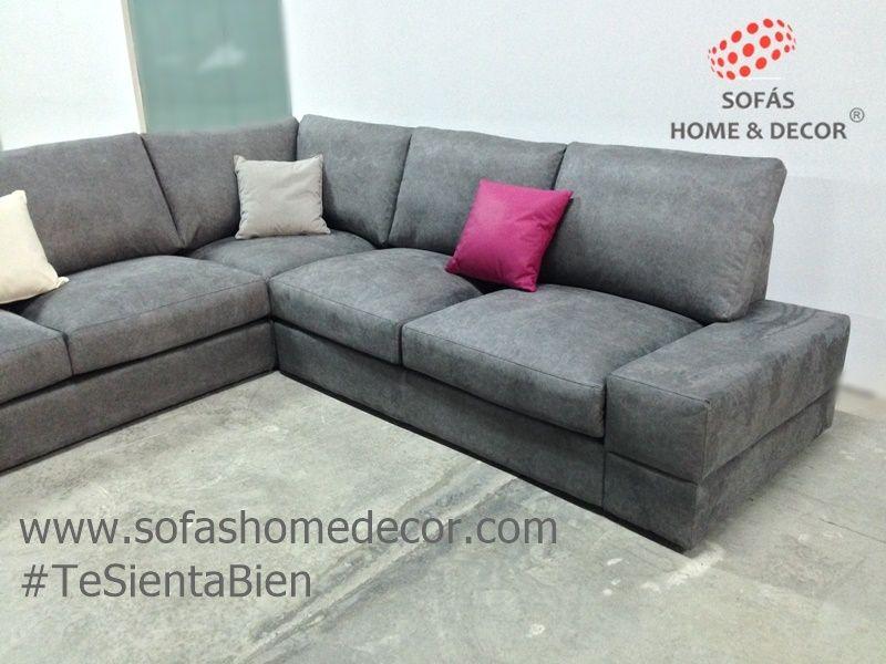 Rinconera aura 3 plazas rinconeras de sof s home decor for Sofas en u precios