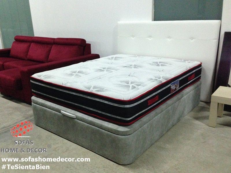 Cabezal cama barato 105 en polipiel for Canape y colchon 150 barato