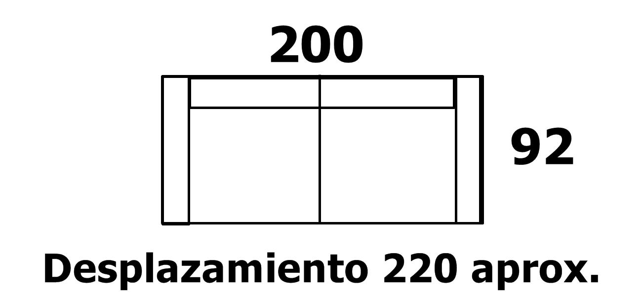 sof cama 135 line tela antimanchas
