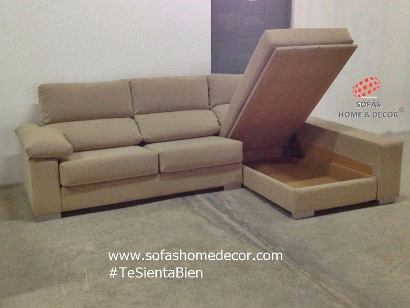 Sof 2 plazas chaise longue fenix sof s de sof s home decor for Sofa 2 plazas mas chaise longue