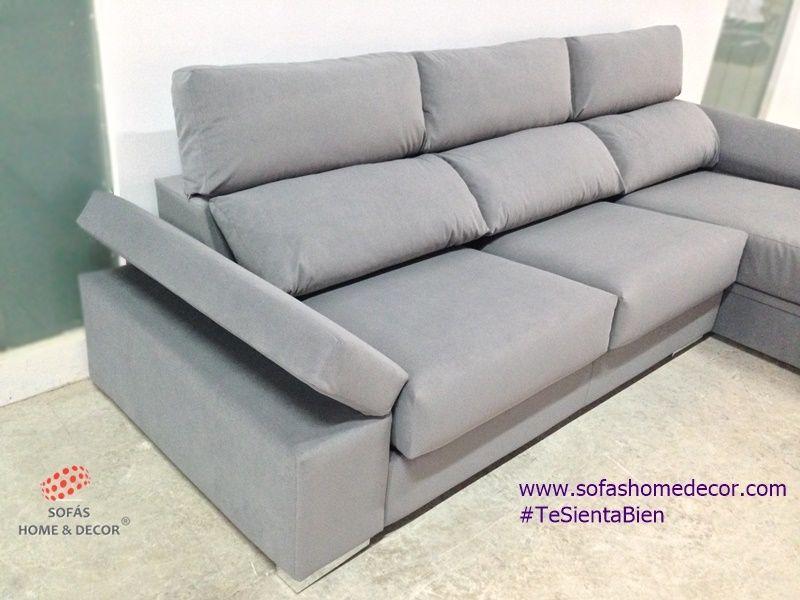 Sofá 2 plazas Chaise longue ABATIBLE sofás de Sofás Home Decor