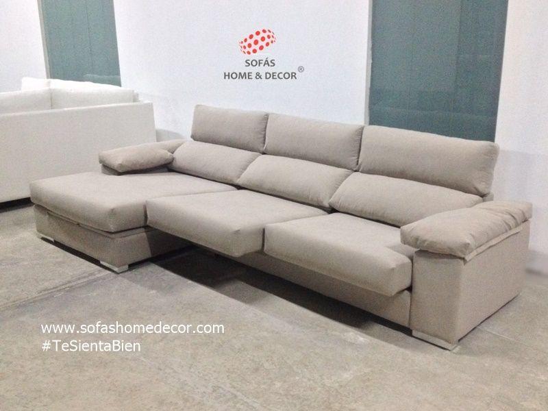 Sof 3 plazas chaise longue pillow sof s de sof s home decor - Medidas de sofas chaise longue ...