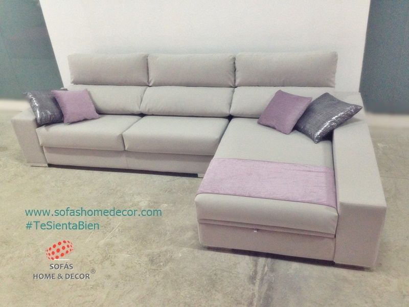 Sof 2 plazas chaise longue line sof s de sof s home decor for Sofas 3 plazas mas cheslong