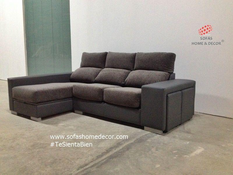 Sof 2 plazas pouf chaise longue sof s de sof s home decor for Sofa 2 plazas mas chaise longue