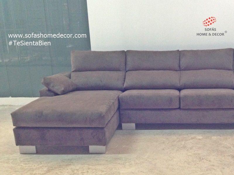 Sof 2 plazas chaise longue camel sof s de sof s home decor for Sofa 2 plazas mas chaise longue