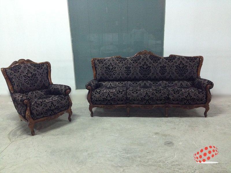 Retapizado sof 3 plazas cl sico for Sofas el tresillo
