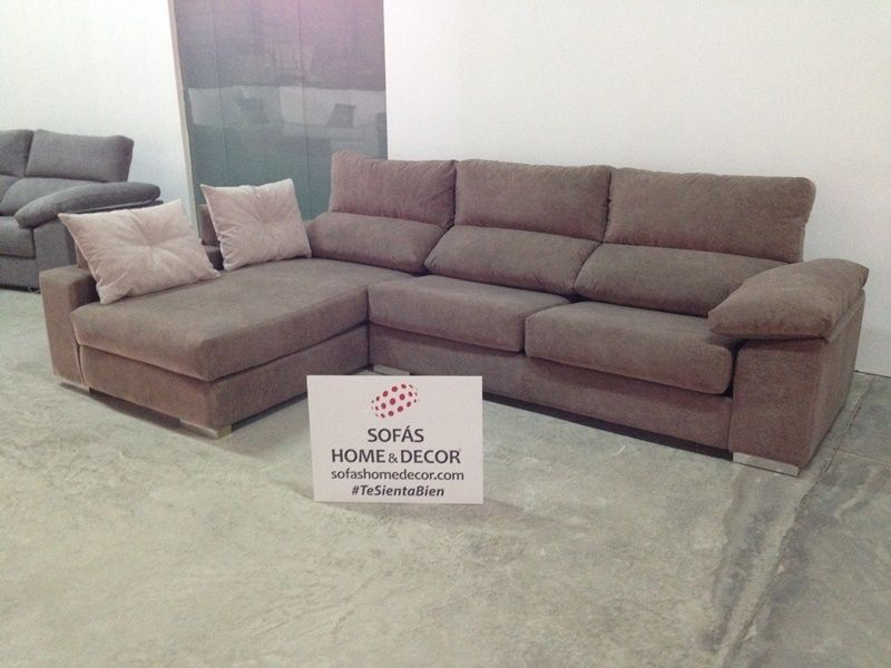 Sof 3 plazas cheslong rinc n moka de sof home decor for Sofas 3 plazas mas cheslong
