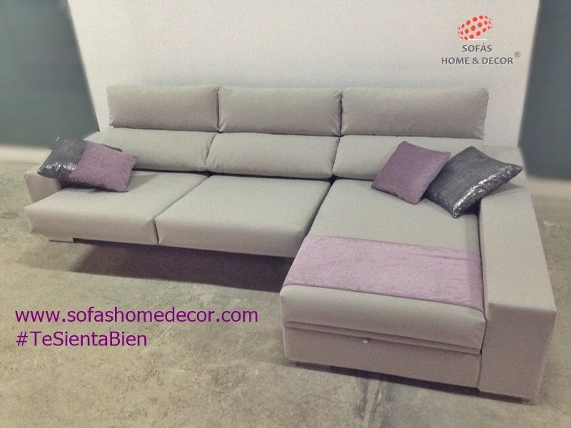 Sof 2 plazas chaise longue line sof s de sof s home decor for Fabricantes de sofas en espana