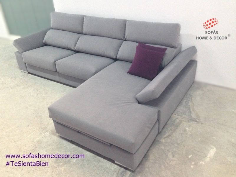Sof 2 plazas chaise longue abatible sof s de sof s home for Fabricantes de sofas en espana